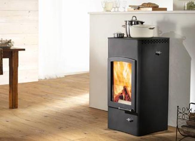 po le bois acier austroflamm lucy cook. Black Bedroom Furniture Sets. Home Design Ideas