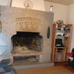 cheminée pierre style